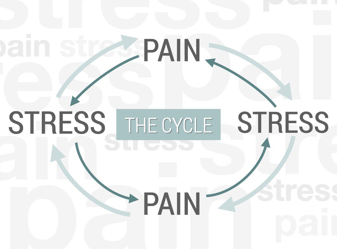 The stress-pain cycle